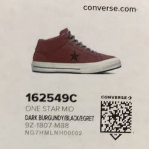 CONVERSE One Star Mid Counter Climate [162549C]